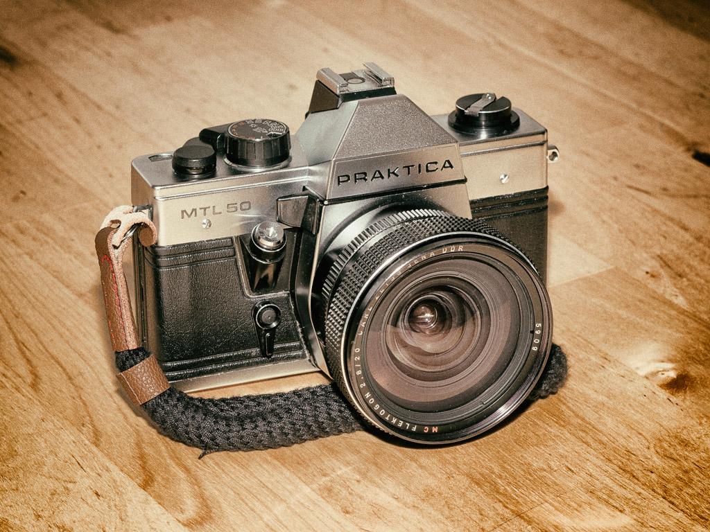 Praktica MTL50 with Flektogon 20 lens